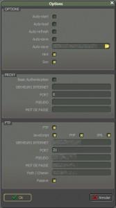 WBFHQ – Configuration