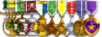 Médailles BF2