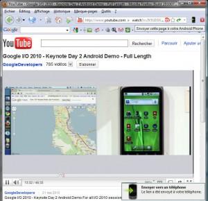 YouTube sur PC