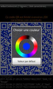 Personnalisation des codes QR