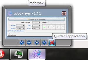 Prévisualisation wJoyPlayer 1.4.1