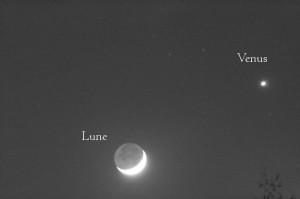 La Lune & Venus