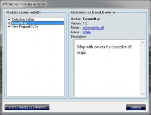 Activation de wCoversMap