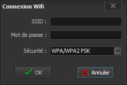 Paramétrer une connexion Wifi