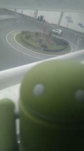 Caméra du Desire vue depuis le Cink Slim