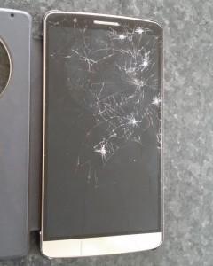 LG G3 cassé